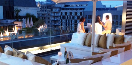 Moet Chandon Alaire Lounge