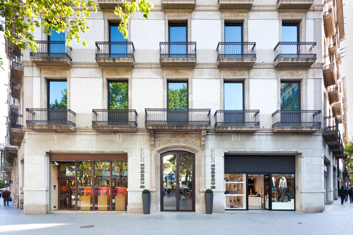 Re discover hotel condes de barcelona barcelona to see for Hotel gracia barcelona