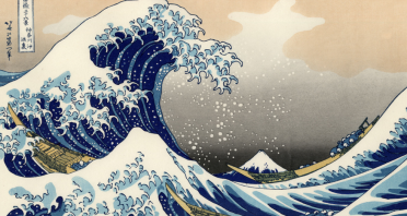 """The great wave of Kanagawa"" and Hotel España"